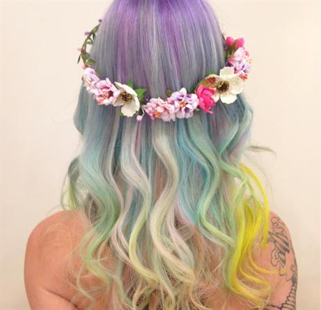 Capelli: i colori (pazzi) del 2016 | Colore capelli ...