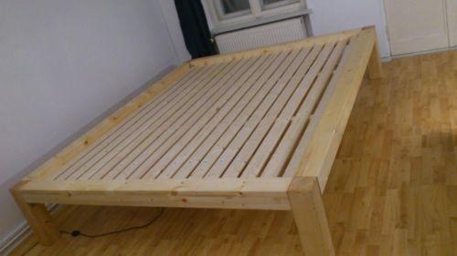 bett podest massiv holz 120 140 160 180 200 und bergr e in berlin neuk lln bett gebraucht. Black Bedroom Furniture Sets. Home Design Ideas