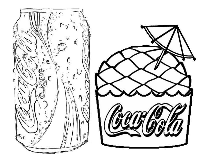 Pin On Coca Cola Drawing And Coloring Activities