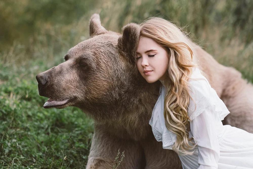 Смотреть картинки людей животных