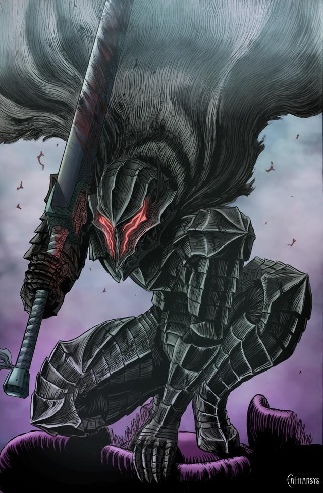 Berserker Armor! Colored by me - Berserk in 2020 | Berserk, Anime, Anime wallpaper