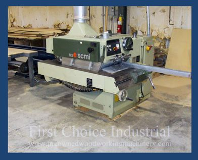 First Choice Industrial Is An Authorized Scm Woodworking Machinery Dealer Located In Metro Atlan Woodworking Machinery Woodworking Used Woodworking Machinery