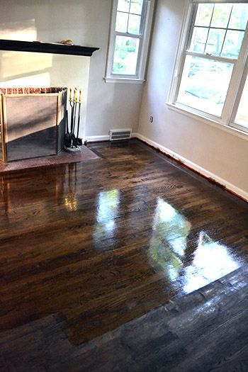 Poly Poly Princess Minwax Dark Walnut Stain Dark