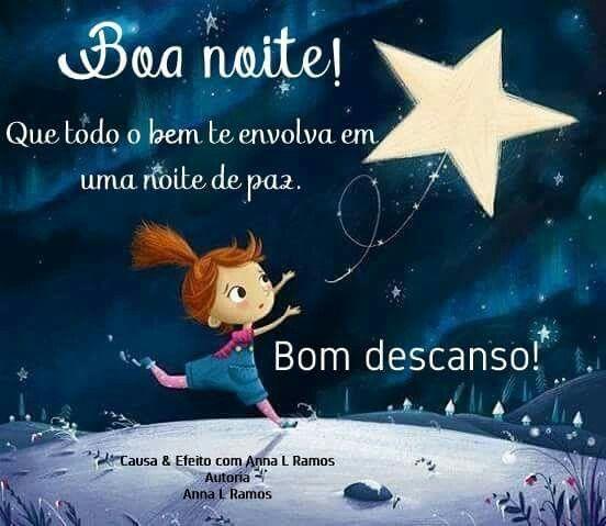 Boa noite. | Boa noite bons sonhos, Boa noite engraçado, Mensagem ...