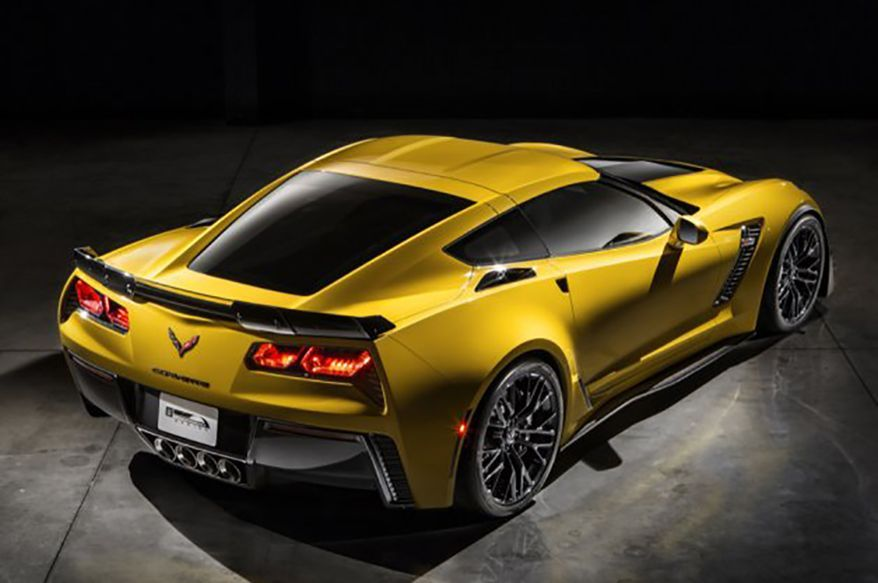 2015 Chevy Corvette Z06 will come out of the box with a sub-3-second 0-60 time and sub-11-second quarter-mile time. The 2.95-second sprint time comes courtesy of the company's new eight-speed automatic transmission.