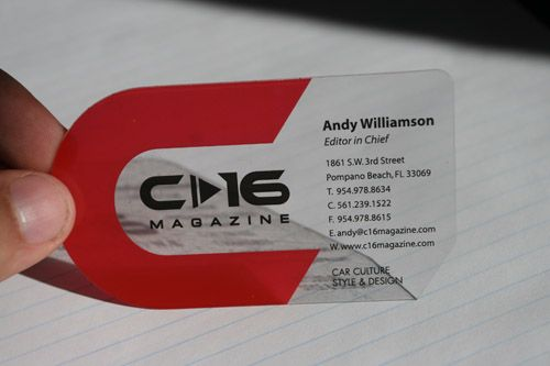 Best Business Cards Ever | ... » Blog Archive » The 5 Best ...