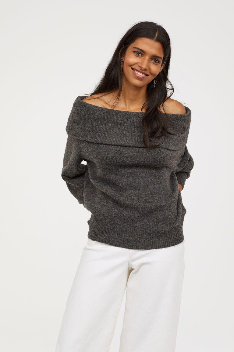 Offtheshoulder Sweater Women clothes sale, Ladies tops