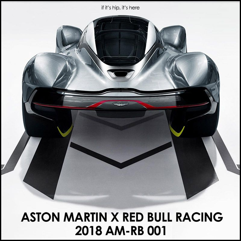 The Aston Martin X Red Bull AM-RB 001 Unites The Very Best
