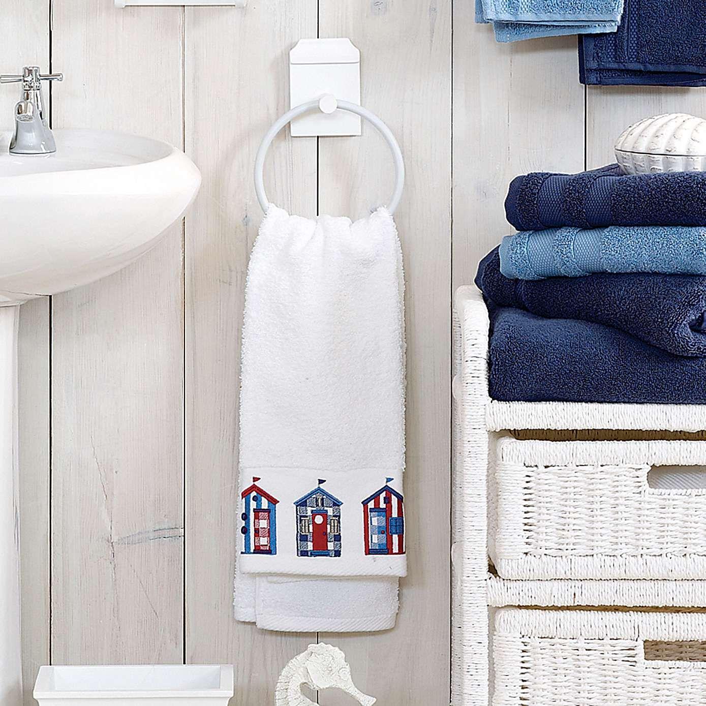Dunelm Beach Hut Embellished Towel | Pinterest | Beach huts, Towels ...