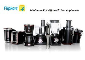 Flipkart Minimum 50% Discount on Kitchen Appliances | Freekabalance ...