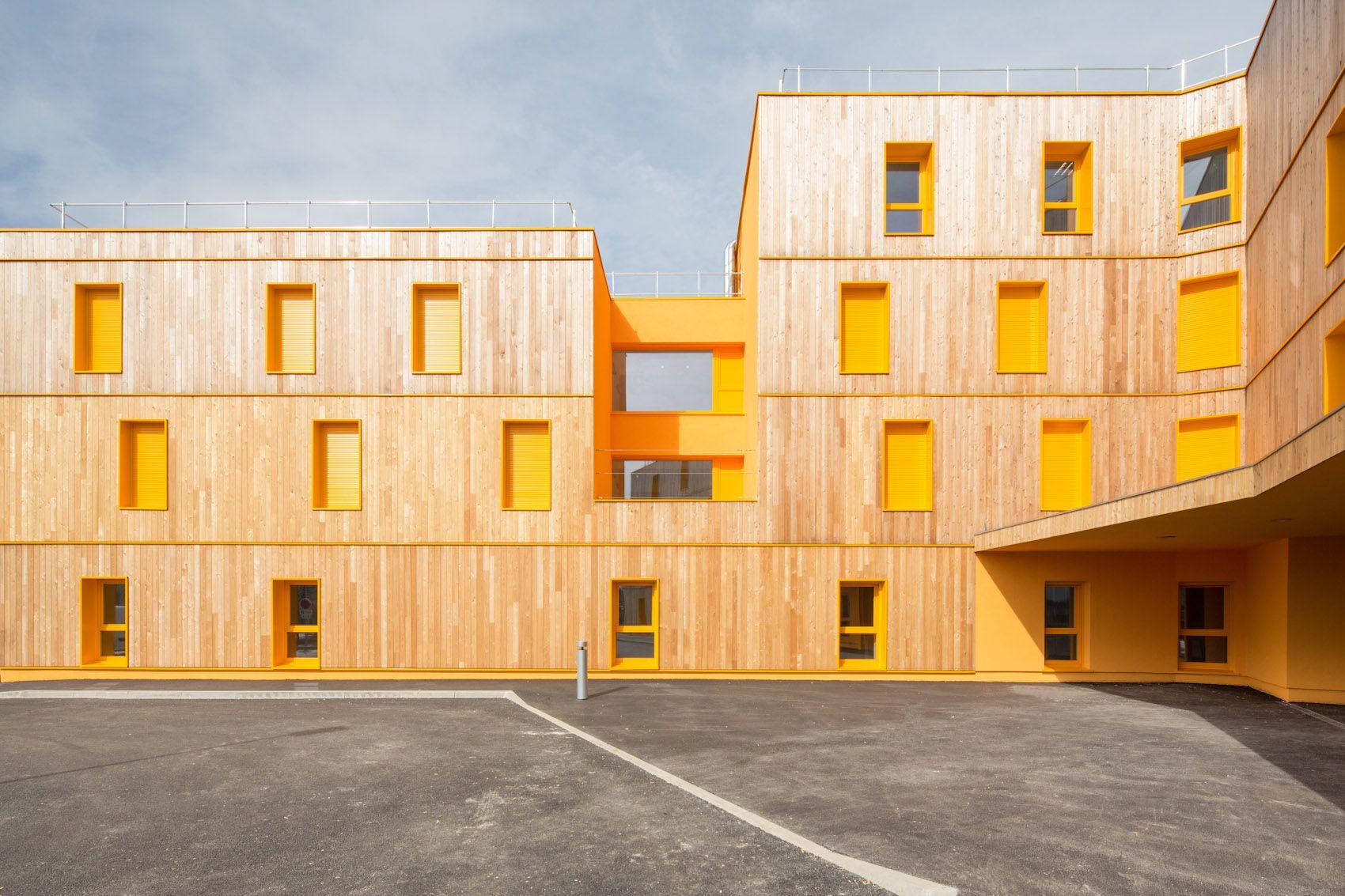 vous êtes ici architectes / maison de retraite, près de paris ...