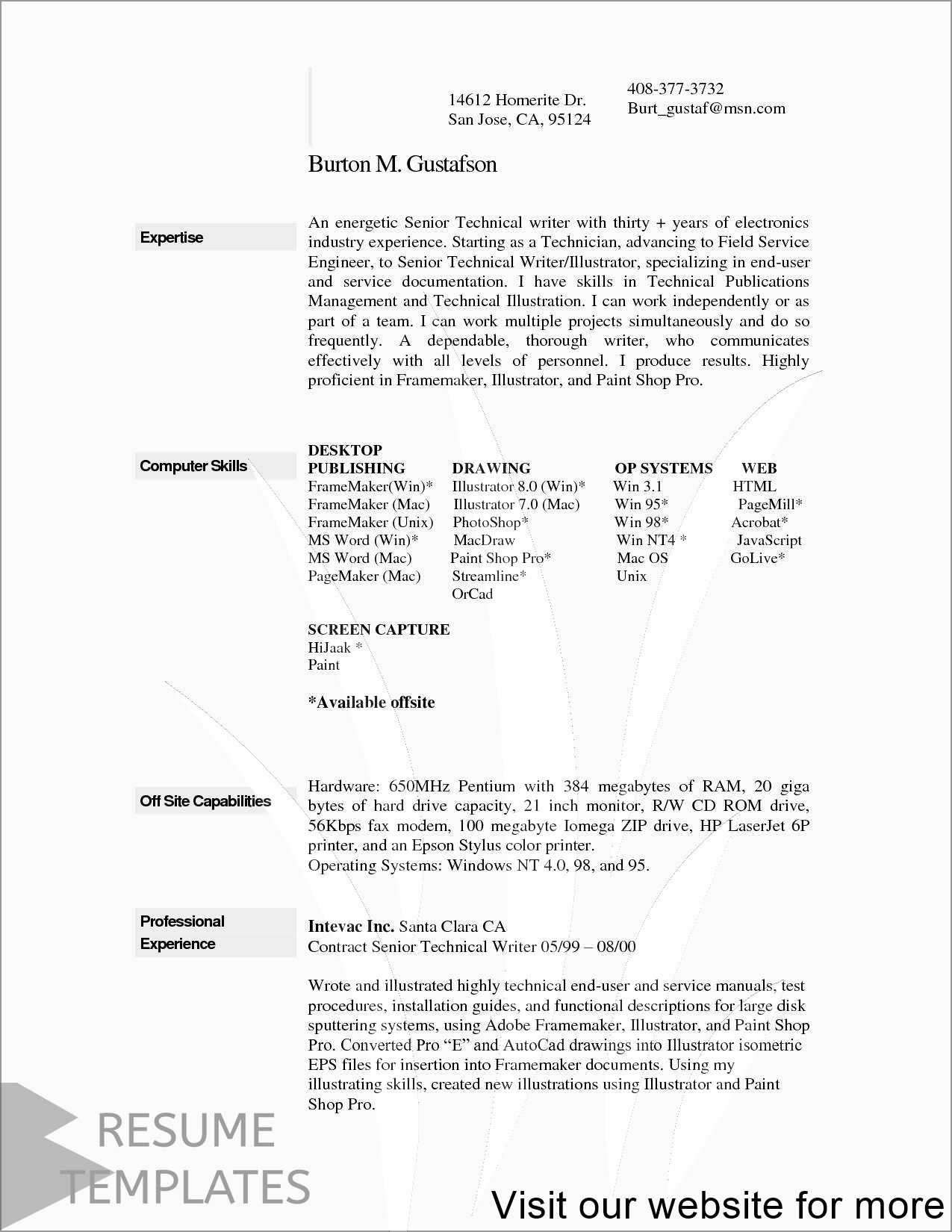 creative resume template free in 2020 Resume template