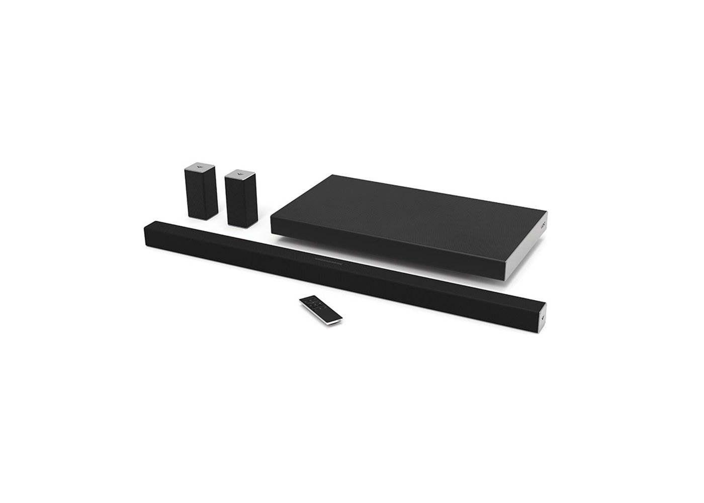 Vizio Smartcast 45 5 1 Tv Sound Bar System W Subwoofer Certified Refurbished In 2020 Sound Bar Tv Sound Digital Tv