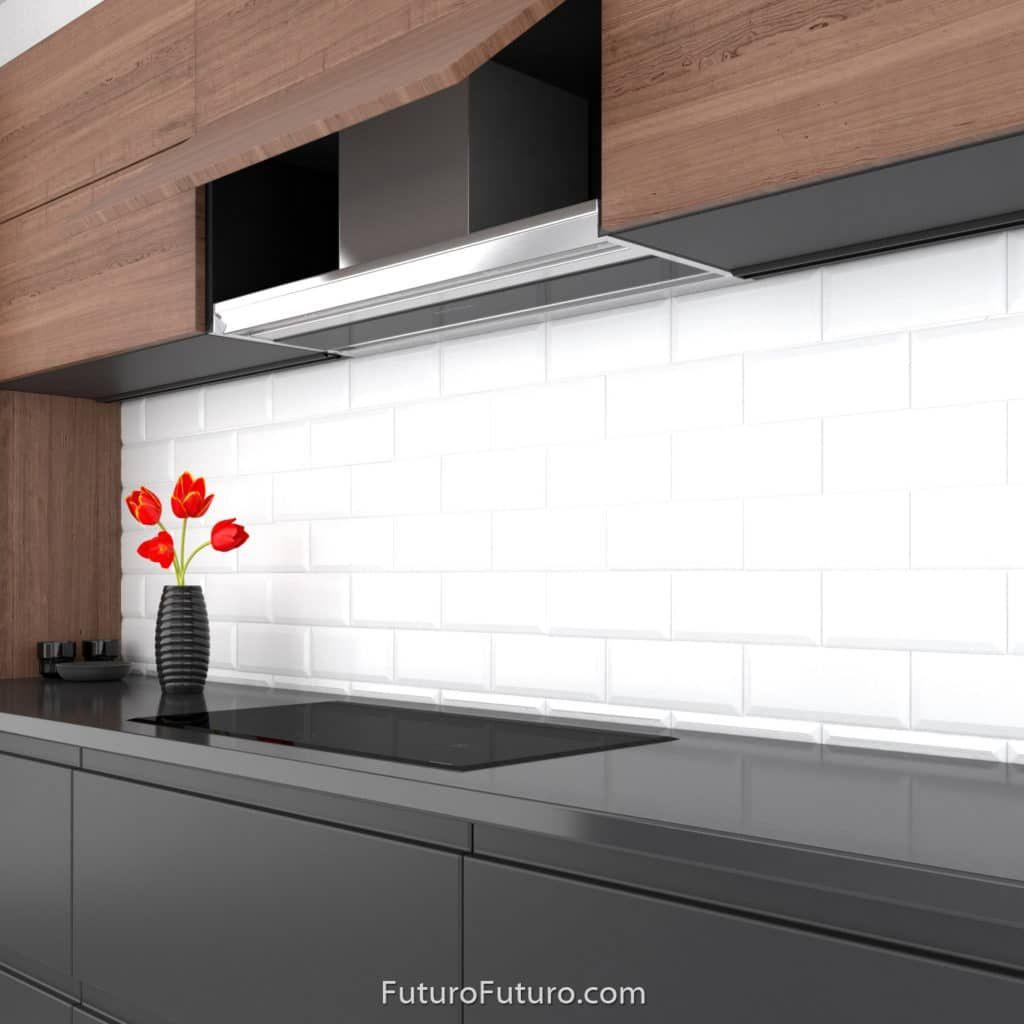 25 Ideas Kitchen Modern Concrete Hoods Modern Kitchen Hood