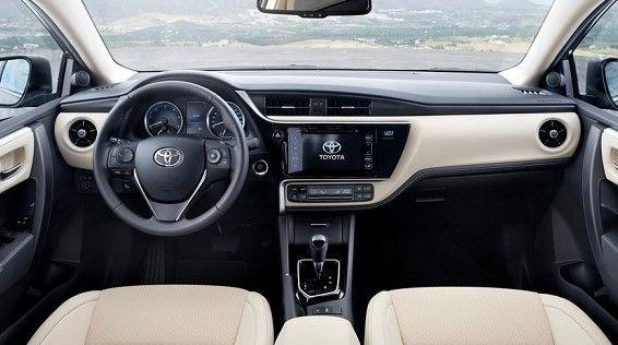 2018 Toyota Corolla Interior Toyota Corolla Toyota Corolla