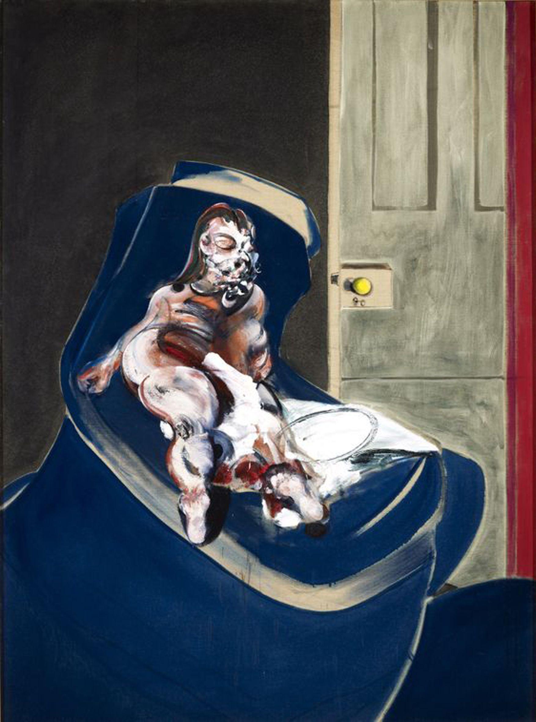 Portrait of Henri Moraes, 1965 by Francis Bacon (1909-1992)