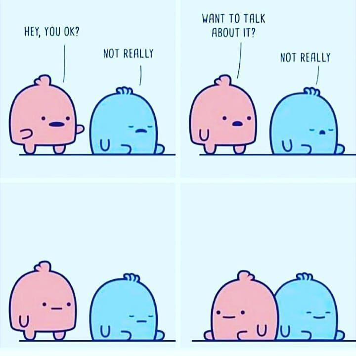 Not okay #anxietyhustle Sometimes silence is the best support. Comfort your friends by listening to the unsaid words❤ DM @listeningstoriesuntold If you want help ???? #anxiety #panicattack #netflix #comics #comicart #success #betterme #mentalhealthawareness #fun #feminism #lgbt #hustle #anxietyhustle Not okay #anxietyhustle Sometimes silence is the best support. Comfort your friends by listening to the unsaid words❤ DM @listeningstoriesuntold If you want help ???? #anxiety #panicattack #anxi #anxietyhustle