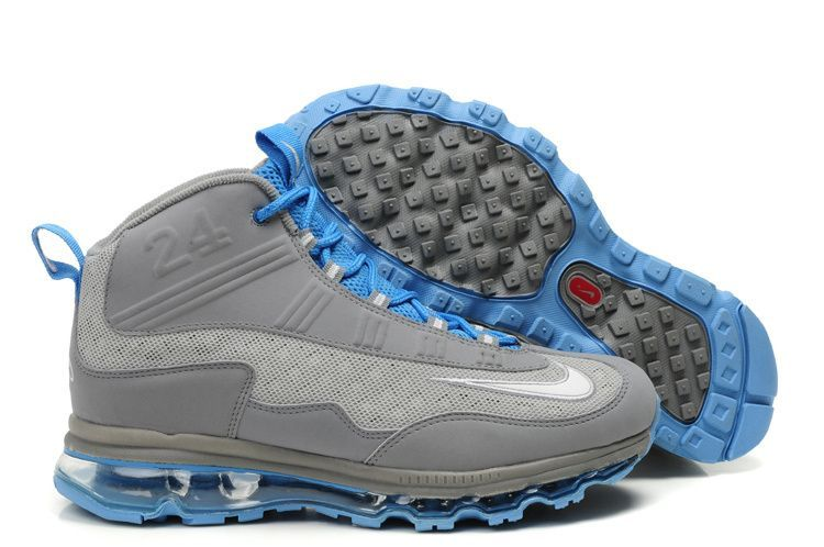 new product 3412b 98226 Nike Air Griffey Max 1 Shoes Gray Blue