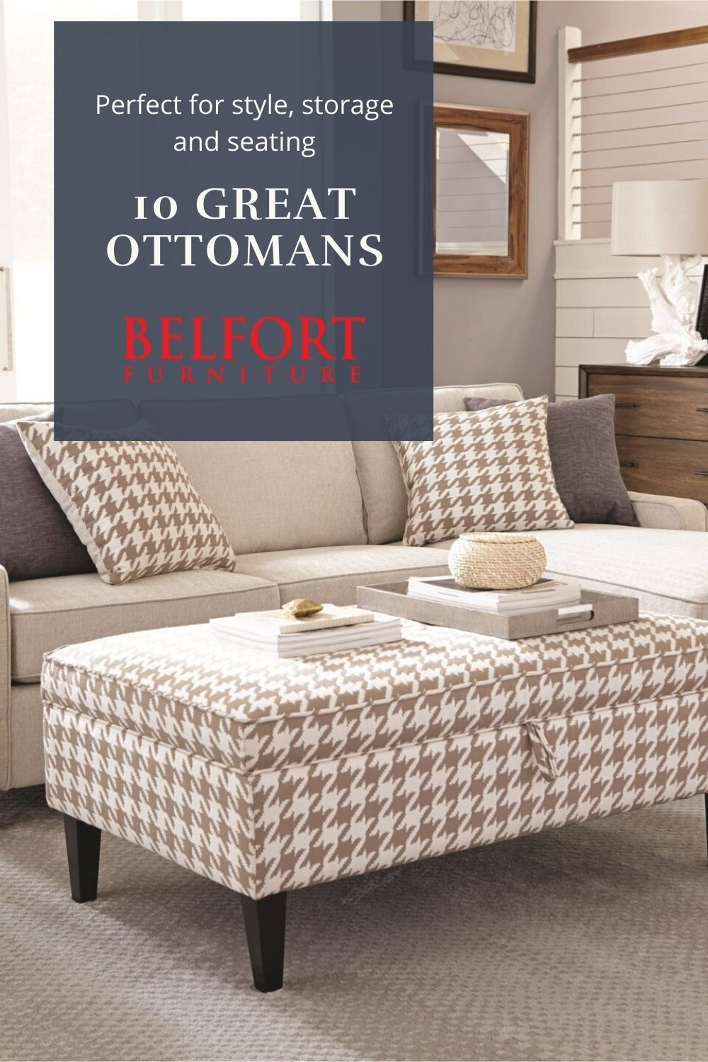Ottomans For Storage, Style and Seating in 9  Belfort
