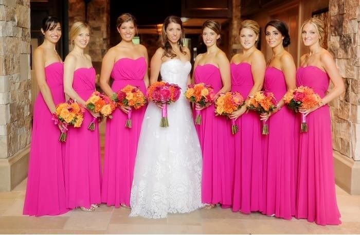 Top 10 Brautjungfernkleider in Rosa & Pink I Inspiration