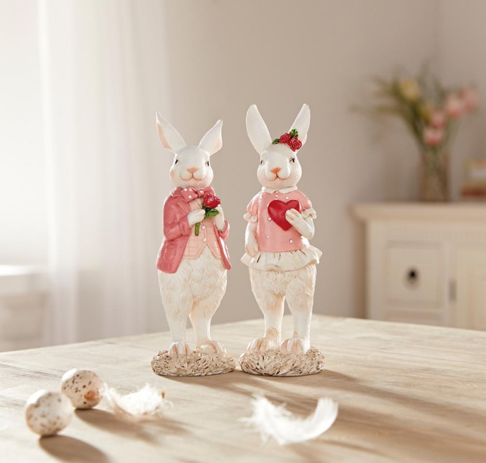 Hasenpaar Rendezvous Im Frank Flechtwaren Und Deko Online Shop In 2020 Osterdeko Flechtwaren Online Angebote