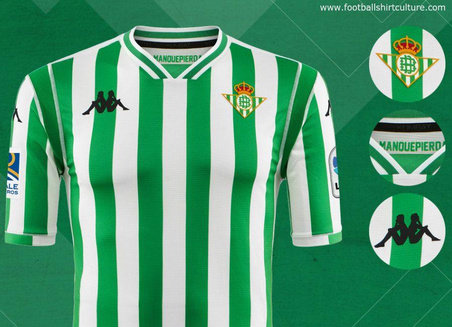 football  soccer  futbol  RealBetis  MuchoBetis Real Betis 2018-19 Kappa  Home Kit 7e87b8345d43c