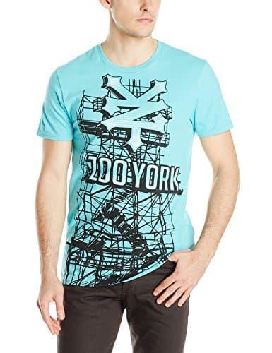 Zoo York Men's Zoo Board Short Sleeve T-Shirt: Zoo York zoo board fashion graphic crew neck short sleeve tee shirt. Full front panel…