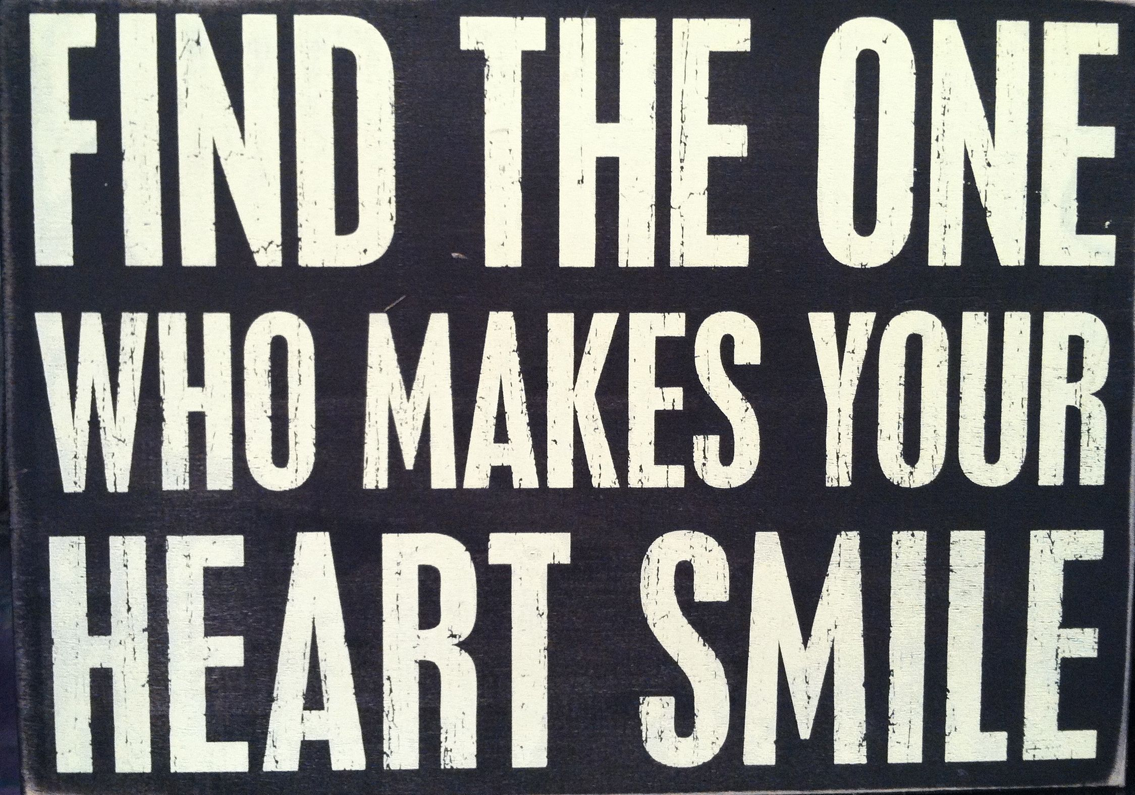 Find The One Who Makes Your Heart Smile Inspiration 3