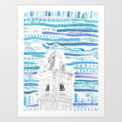 Bluebells Art Print by Will Santino