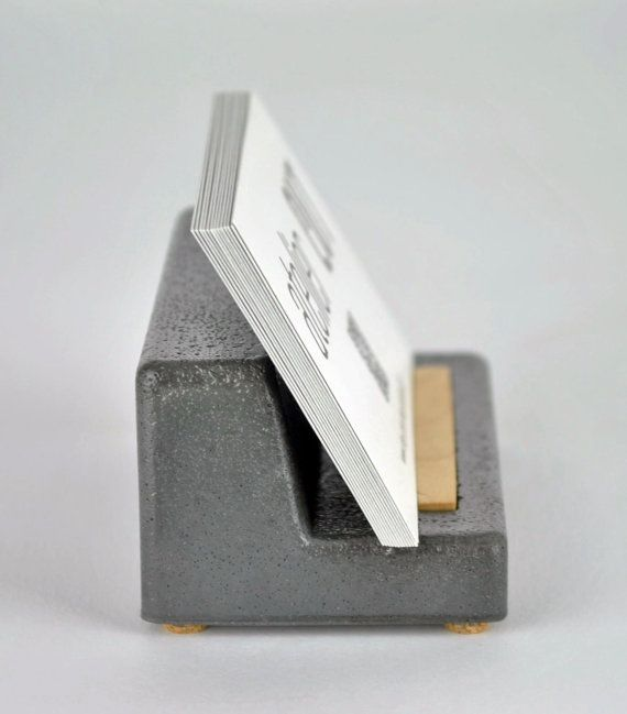 Concrete Business Card Holder Cement Business Card Holder