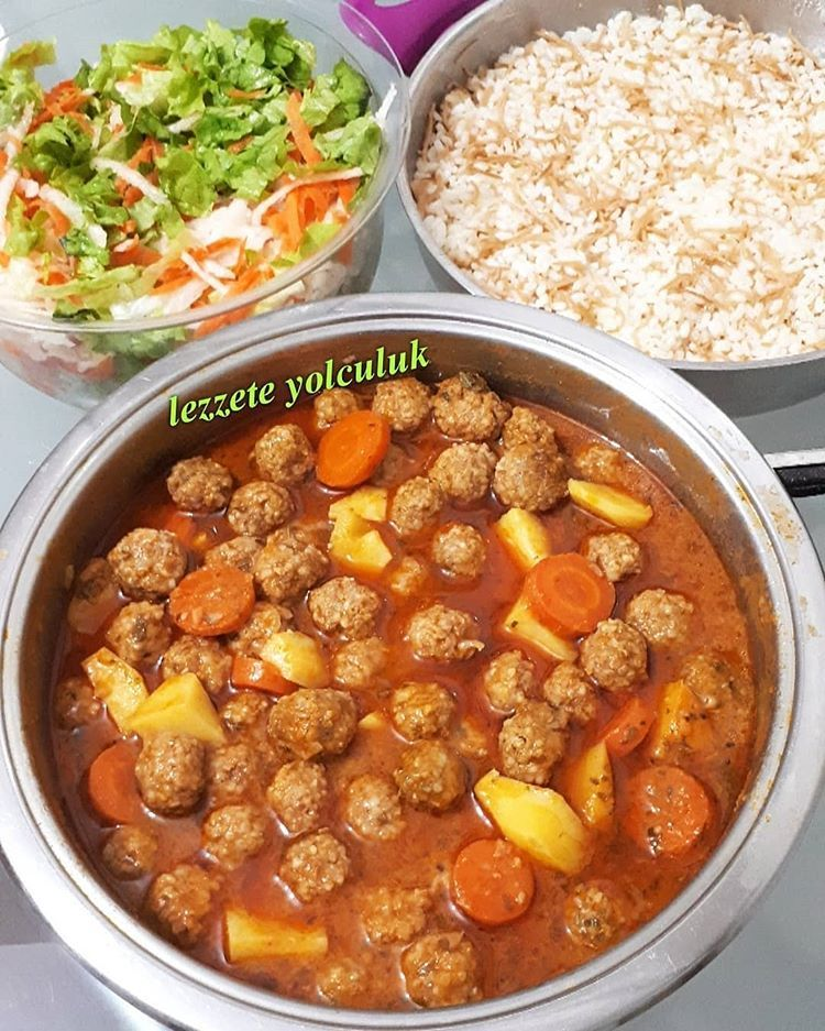 "Photo of Food kitchen presentation on Instagram: ""Menu is delicious @ lezzete__yol …"