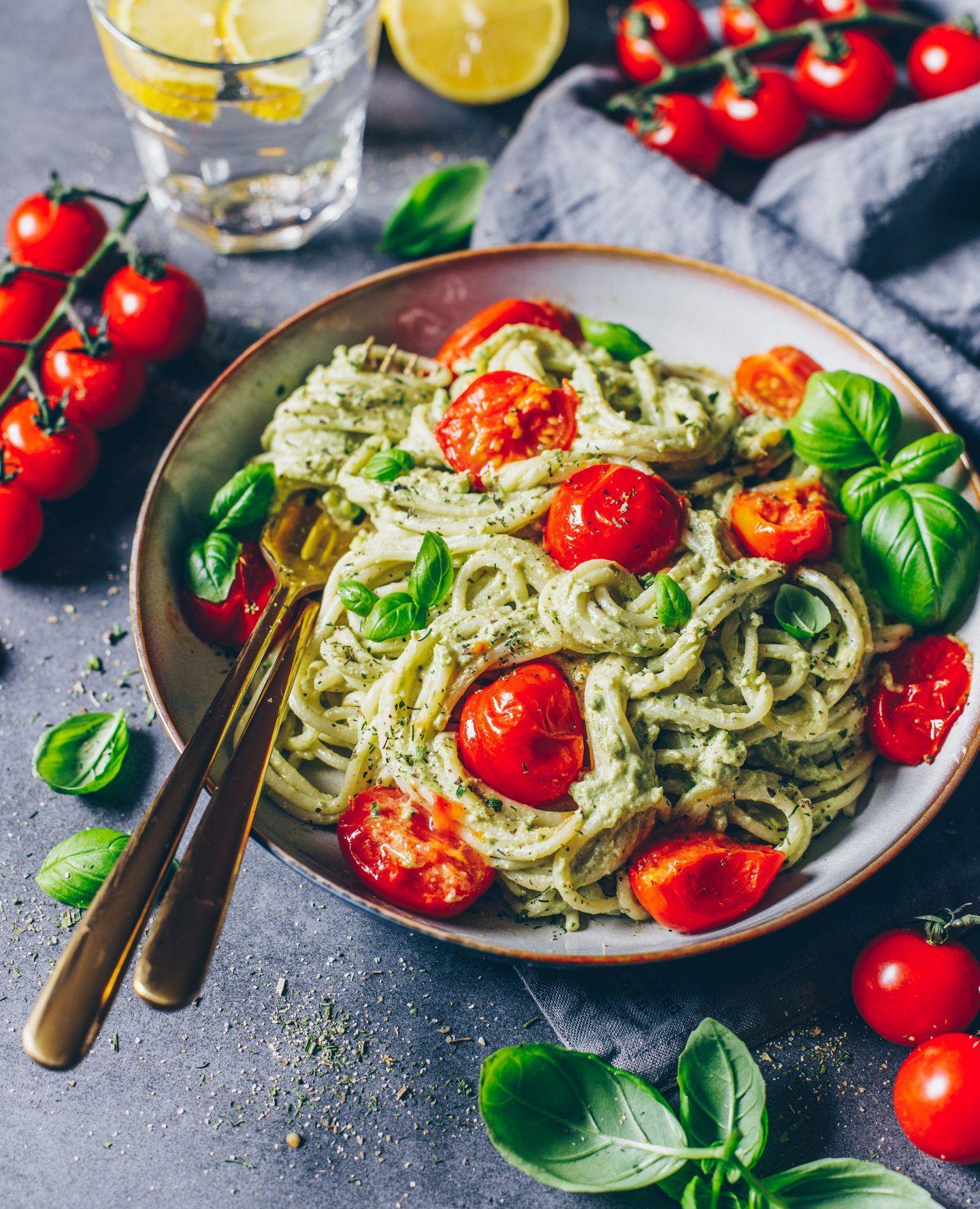 Avocado Pasta (cremige Guacamole #dairyfree