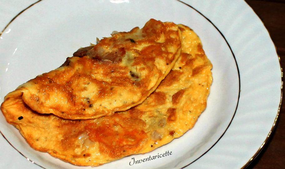La Frittata Imporchettata è una frittata farcita con porchetta e formaggio. La frittata farcita è una soluzione super facile e super veloce per una cena im