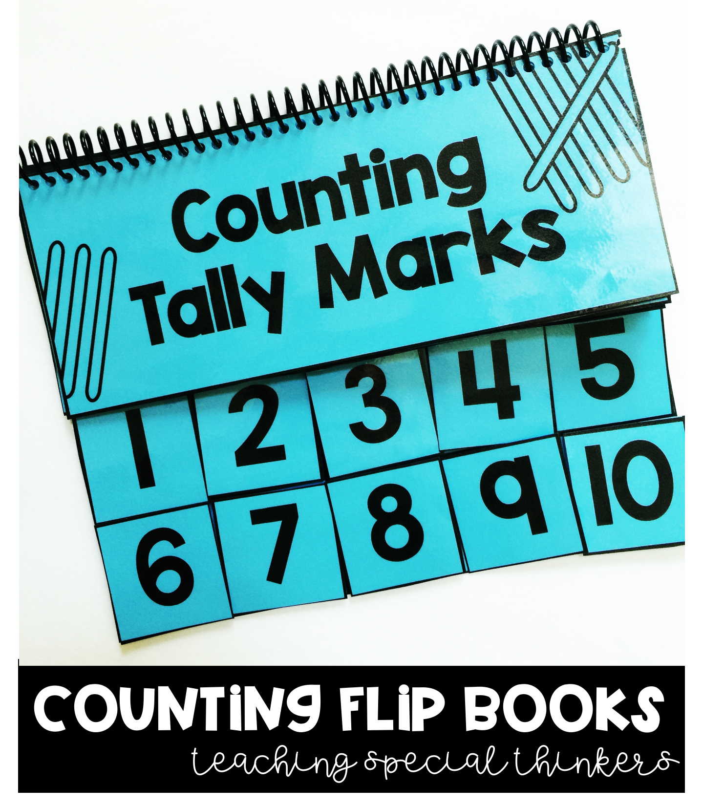 Counting Flipbooks Numbers 1 10 5 Flipbooks Included