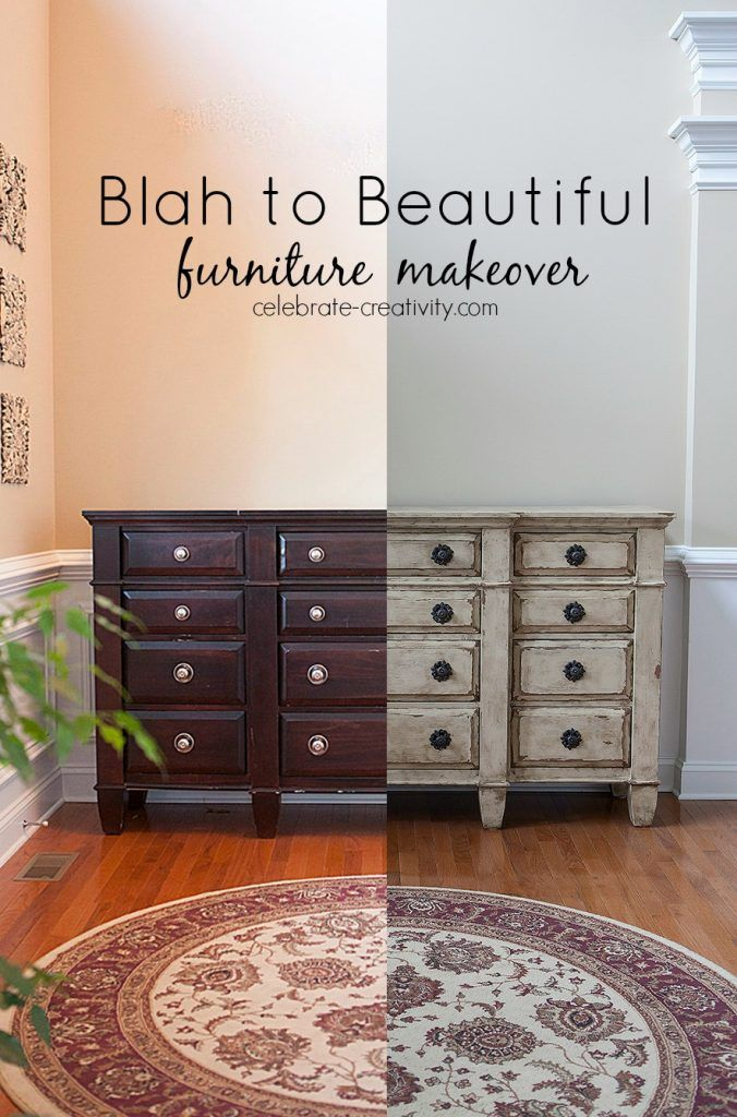 Superbe Turn An Old, Dated Chest Into A Great Looking Vintage Inspired Furniture  Showcase. DIY Makeover.