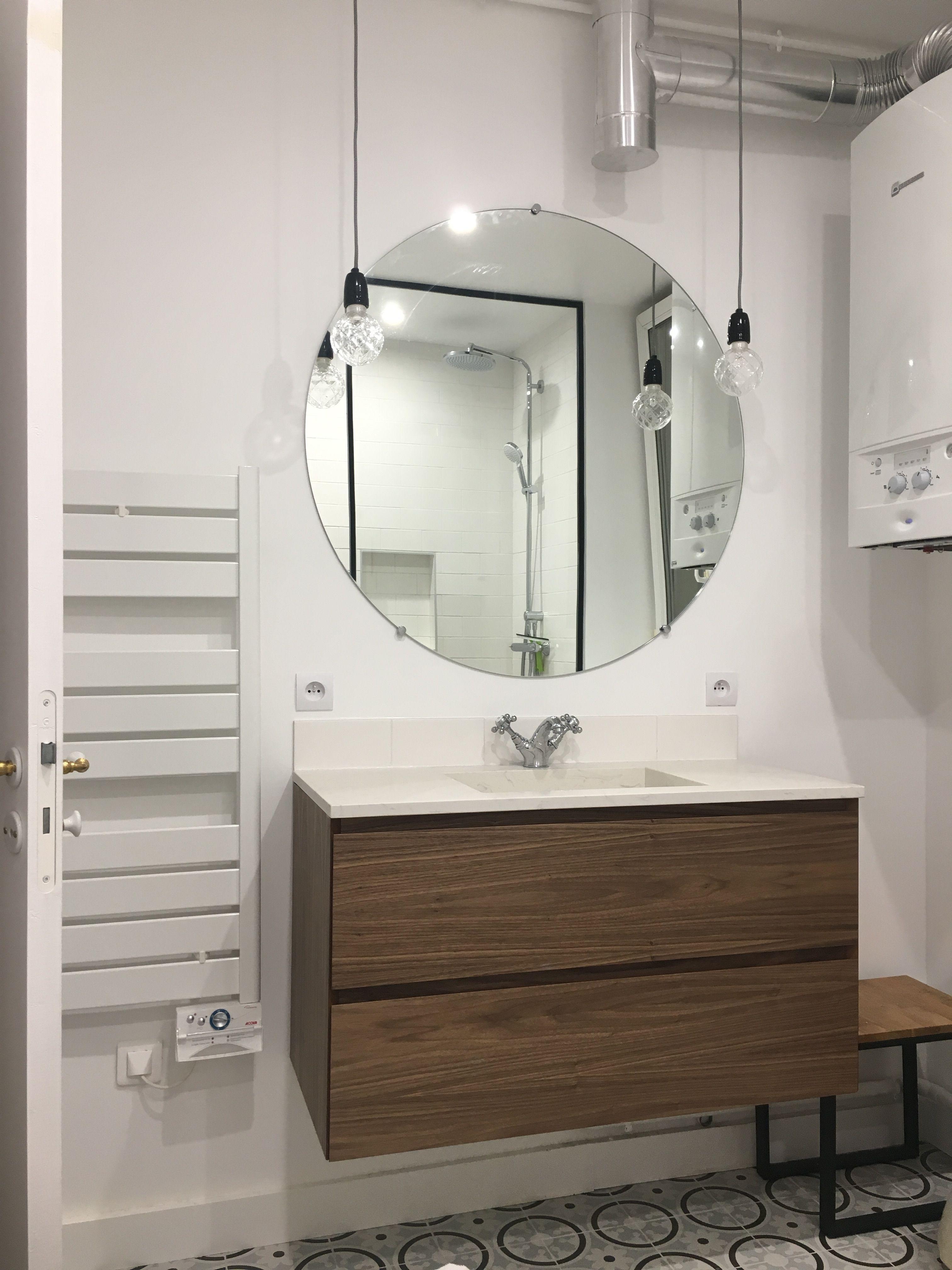 Salle De Bain Lavabo Noir ~ Aujourd Hui On Met L Honneur Un Miroir Bords Lisses R Alis Sur