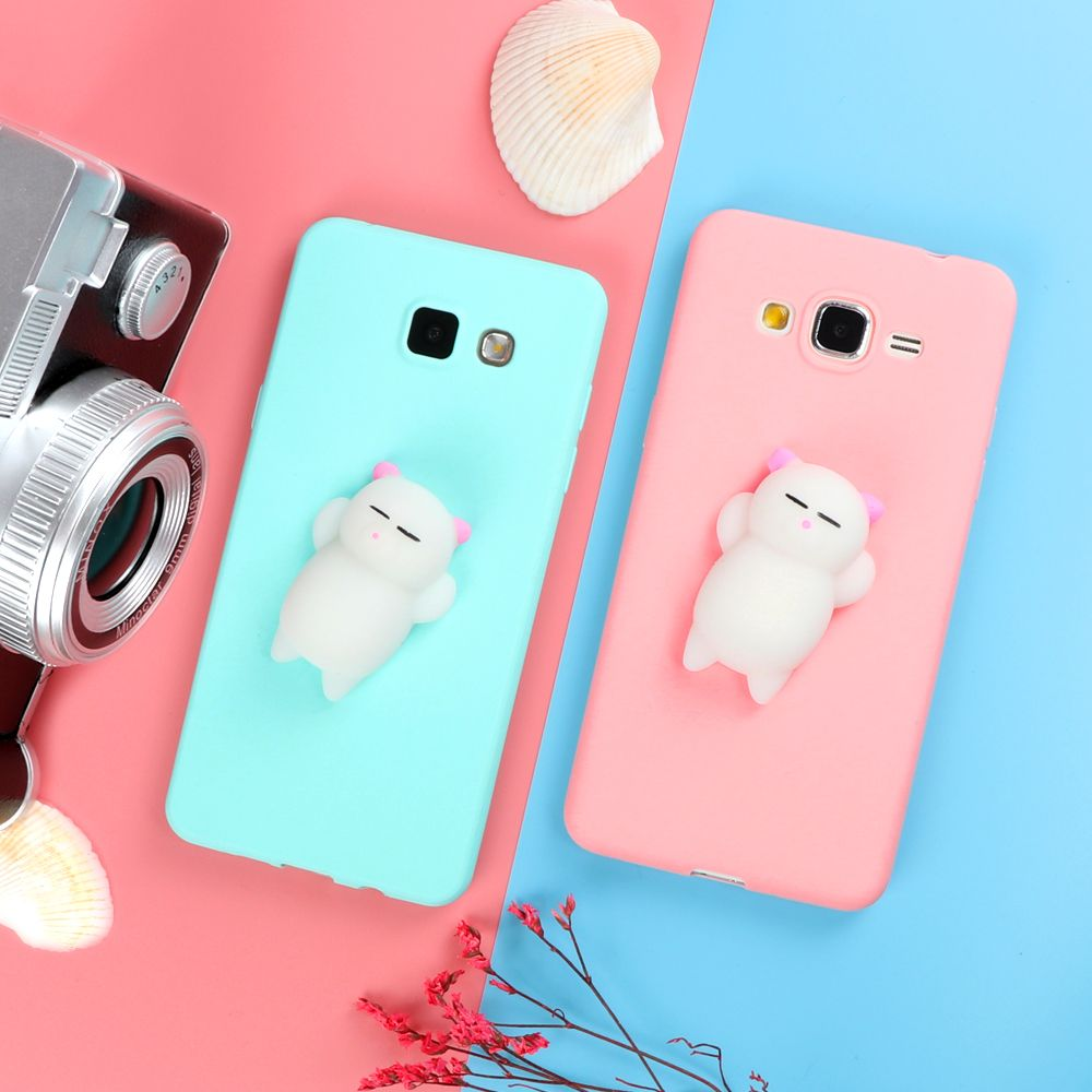squishy 3d cartoon candy phone cases for coque samsung. Black Bedroom Furniture Sets. Home Design Ideas