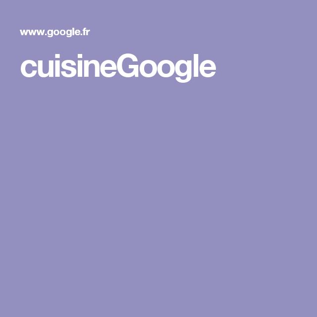 cuisineGoogle