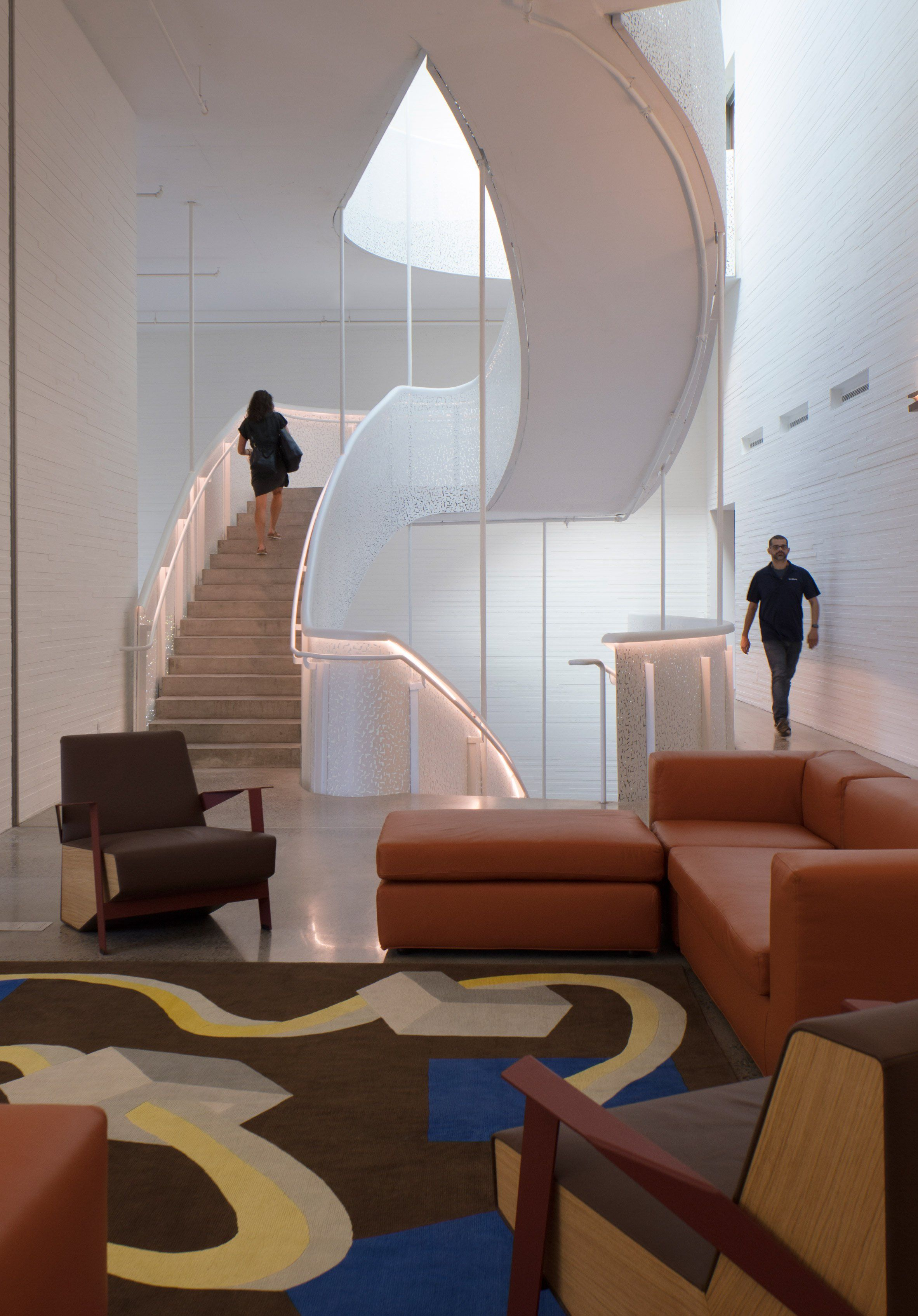 Lewis arts complex at princeton university by steven holl architects interior architecture stairs also best style steps images hand railing rh pinterest