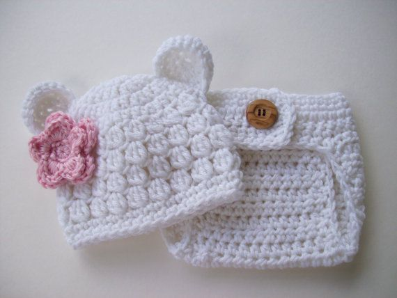 2b56a6890dc Newborn Bear Hat Diaper Cover Baby Bear Hat Baby by CarolinaHats ~ how  sweet is this to bring your little bundle home ~ NB to 3 mos. ~ made to  order