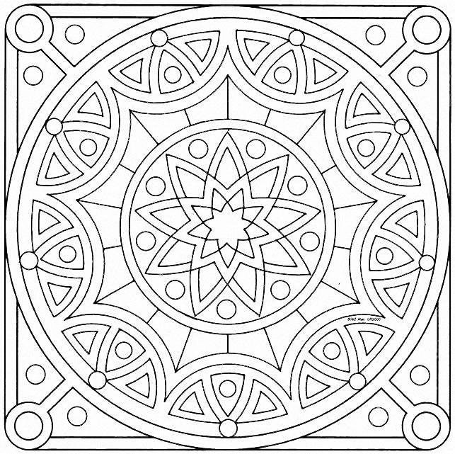 Mandalas religiosos para colorear - Imagui   diseños   Pinterest ...