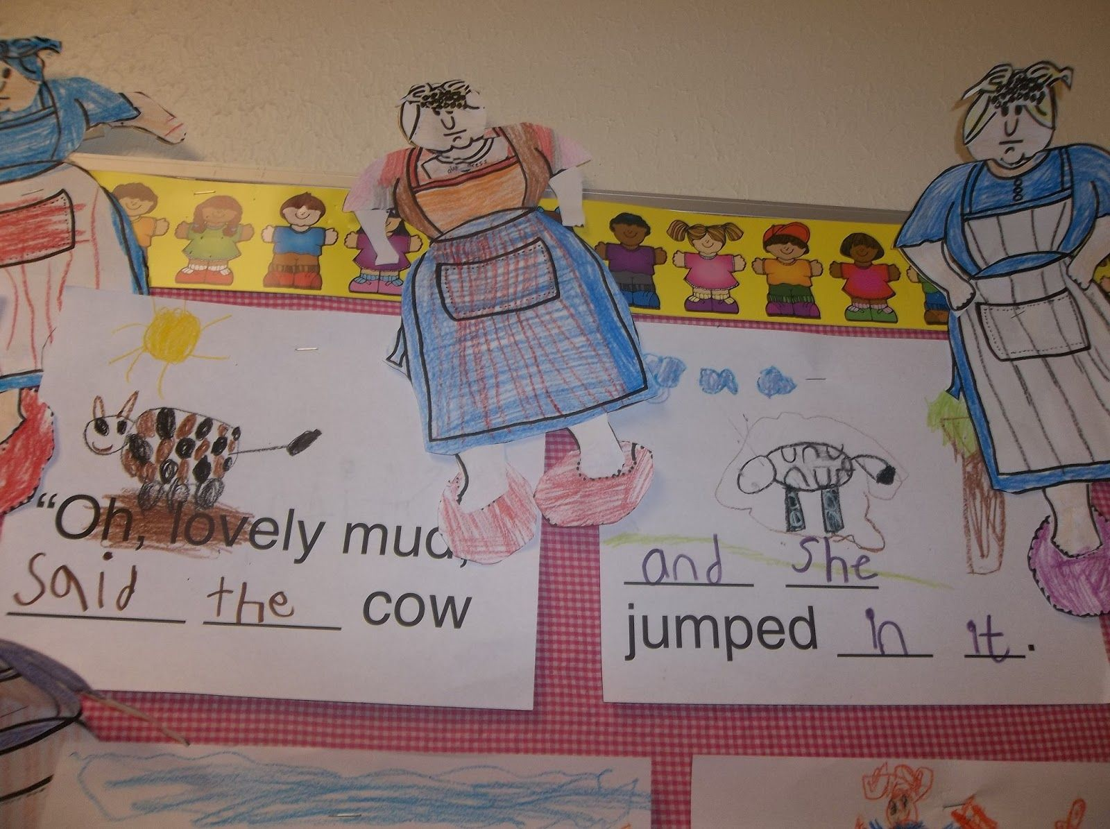 Kinder Garden: Mrs Wishy Washy Activities