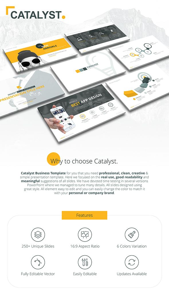 Catalyst Business Powerpoint Template Download Here Https
