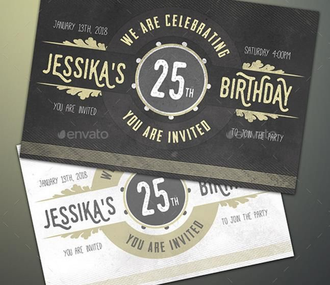 25+ premium birthday party invitation templates – psd,indesign, Invitation templates