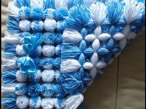 pompom feito no tear de pregos sem desperdicio de lã - YouTube ... ecc5cf826d3