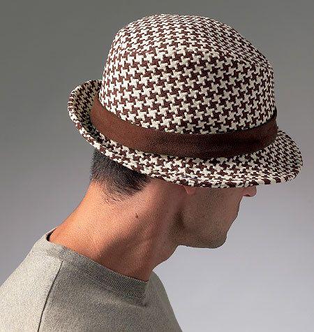 Men\'s Mens Fedora Hat, Bucket and Newsboy Cap Sewing Pattern | Head ...