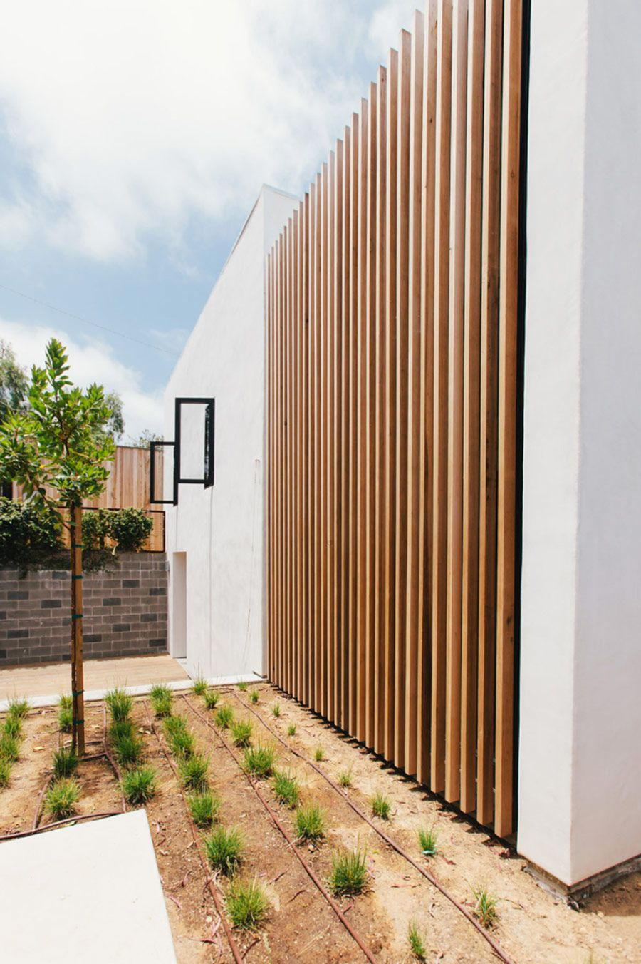 A Modern House Transformation Modern Landscape Design Modern Landscaping Modern Exterior