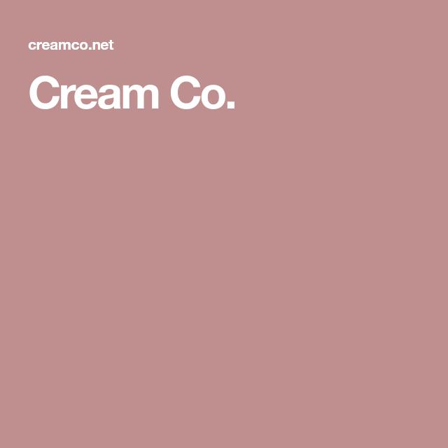 Cream Co.