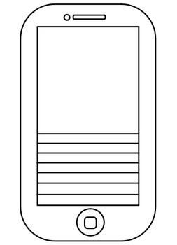 Blank iphone template skole billedkunst og billeder blank iphone template maxwellsz