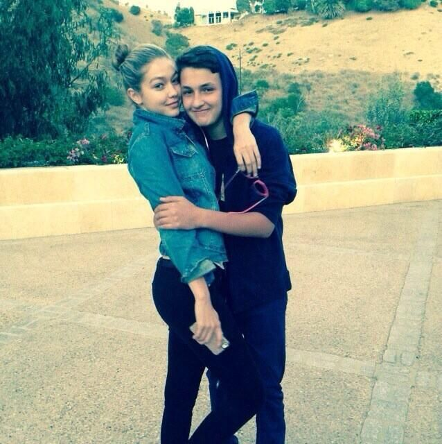 Gigi Hadid & her brother Anwar